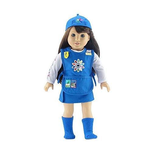 18 | Girl Scout-Inspired 5 Tunic with | American Dolls