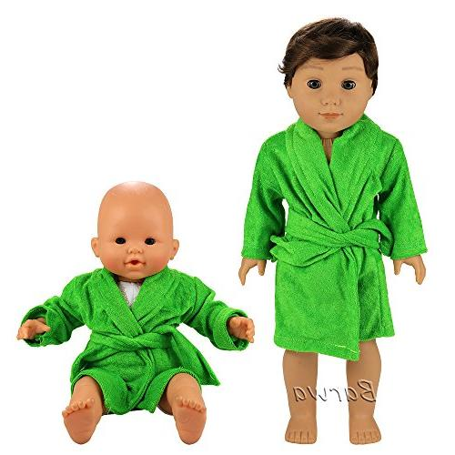 Barwa Clothes 6 Sets Clothes Outfits to 16 Doll 18 Boy Dolls
