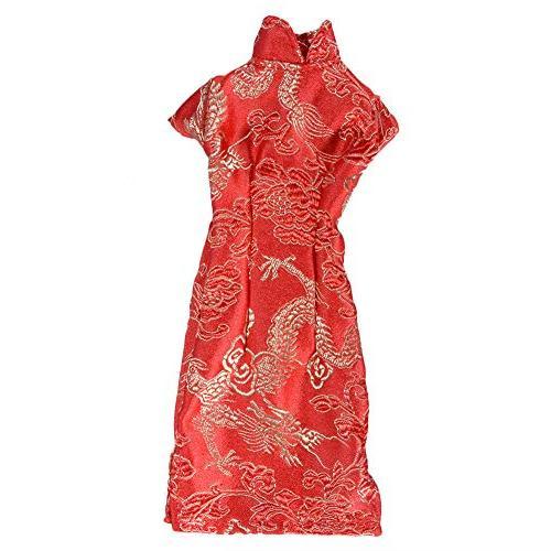 doll cheongsam dress
