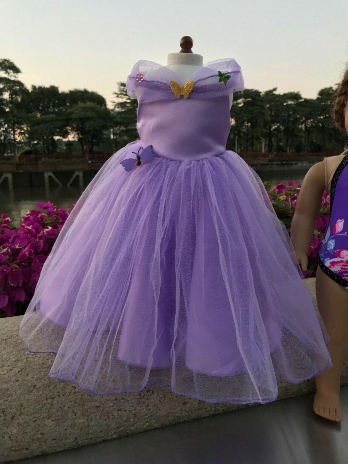 "Doll dress Swimwear girl 18"" doll clothes 2pc"