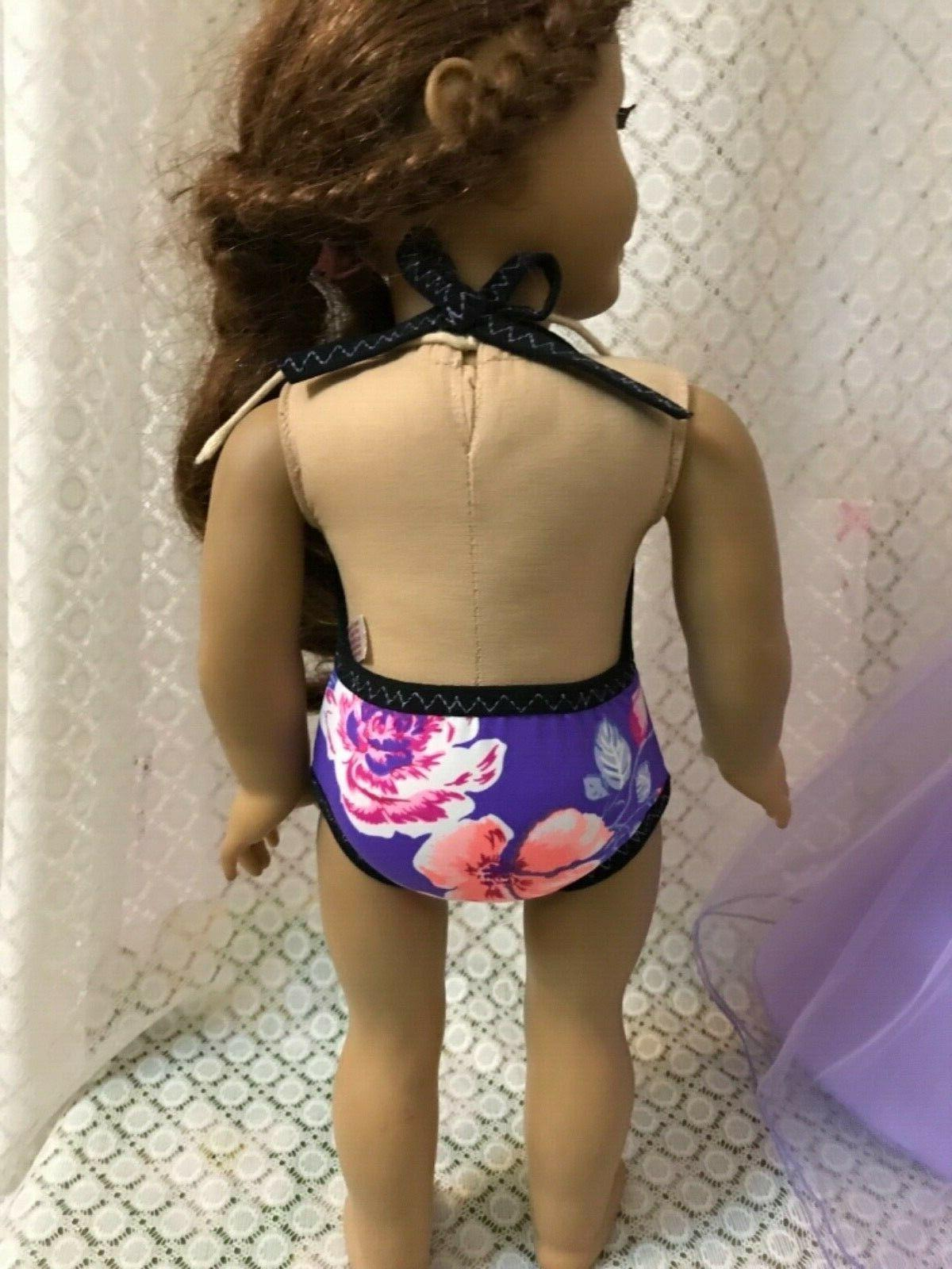 "Doll dress Swimwear American girl 18"" 2pc"