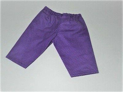 Doll Pants Purple Dot Top AG