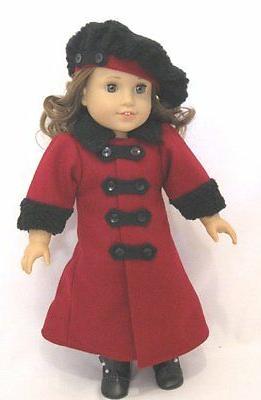 doll clothes 18 doll victorian coat hat