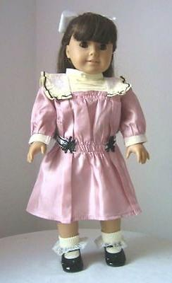 doll clothes 18 doll victorian dress mauve