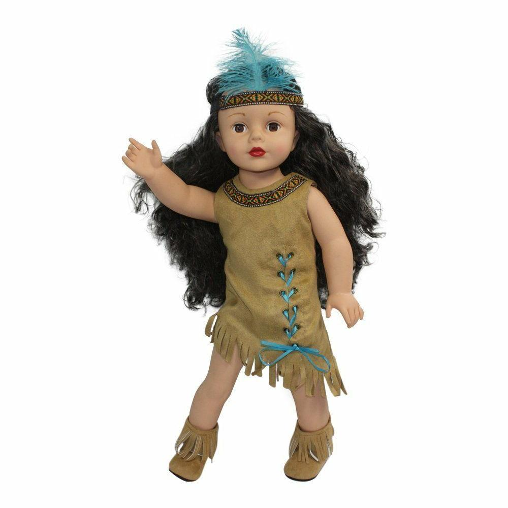 "Dress Indian Headband Arianna 18"" American Girl"