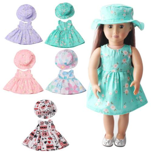 Doll Clothes 18 Inch 7 Styles Dresses Outfits American Girl