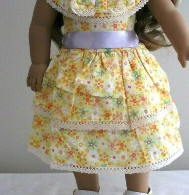 """Doll Clothes Dress 18"""" Girl Reproduction"""