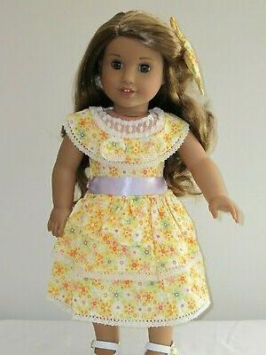 Doll Clothes Dress For Girl Kit Reproduction
