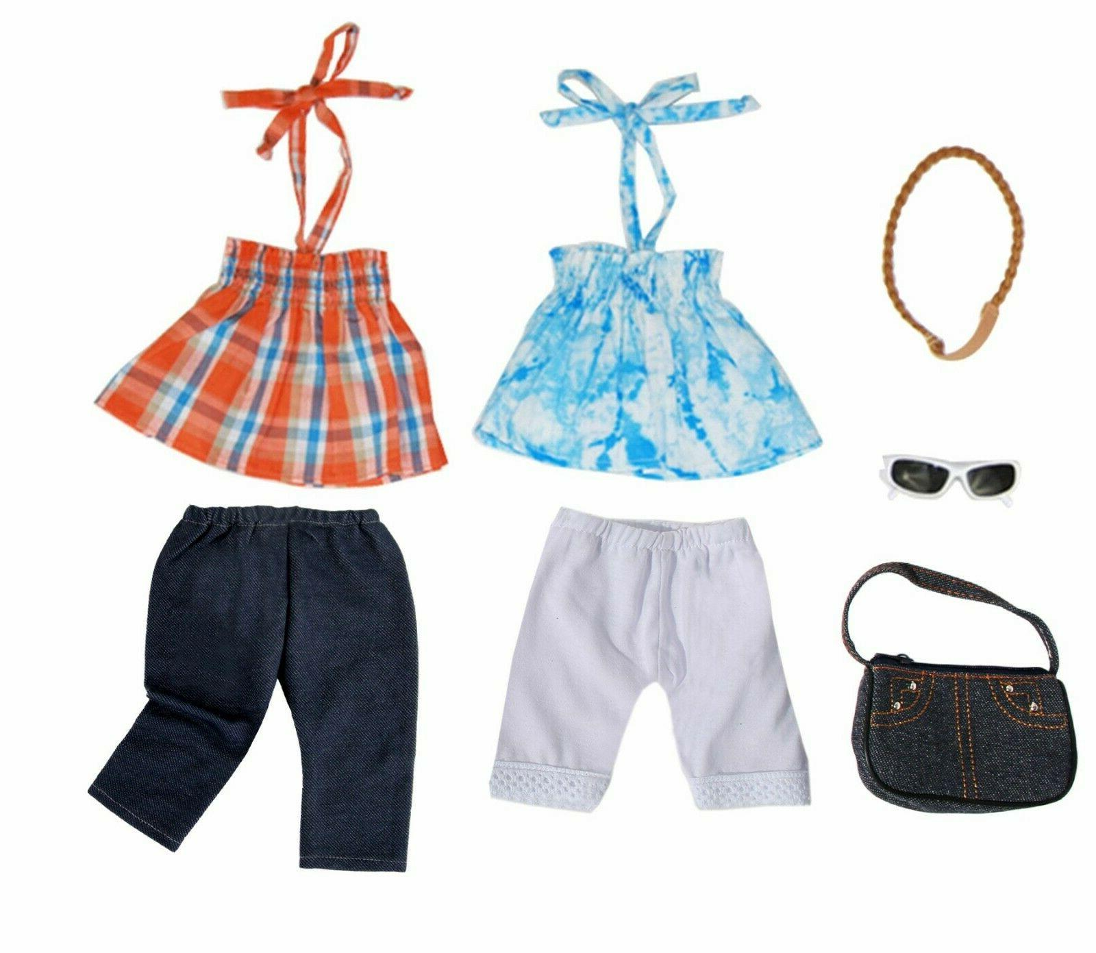 Doll Set Doll Outfit Casual Pants