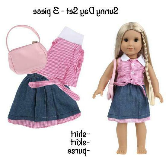 DOLL AND ACCESSORIES FITS 18 INCH