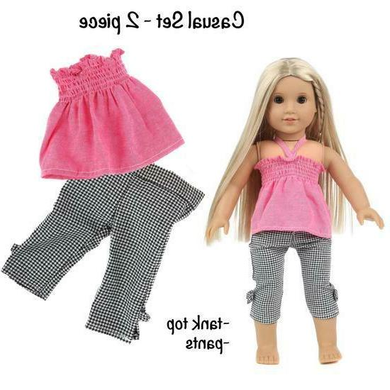 DOLL CLOTHES ACCESSORIES FITS