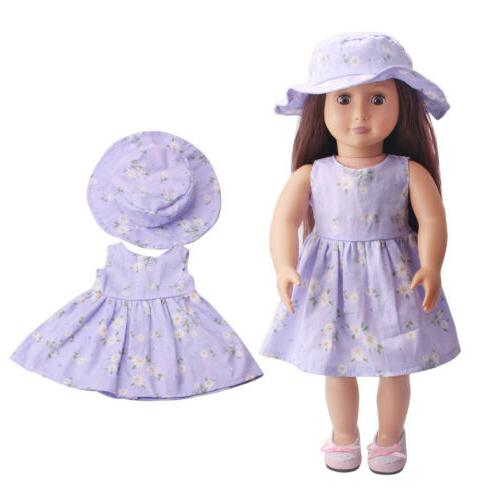 Doll Dress for 18inch US Girl Our Generation My US