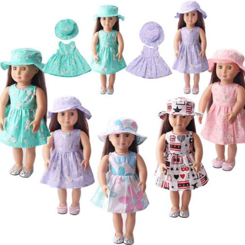 Doll Clothes for 18inch Girl Generation Life US Stock