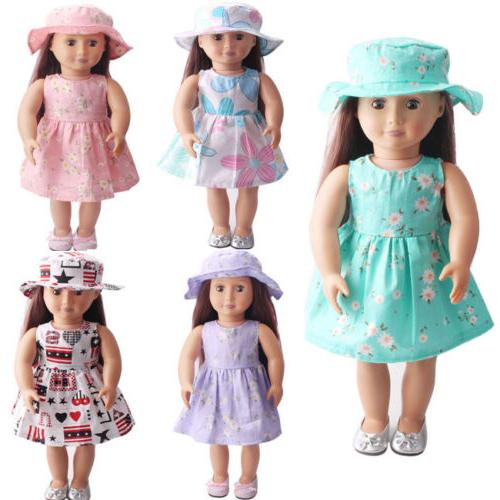 doll clothes dress for 18inch us girl