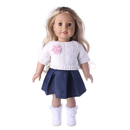 Doll Pajames 18 American Accs