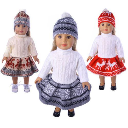 Doll Dress Pajames For 18 American Girl Our Accs