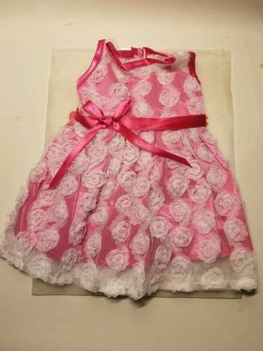 AOFUL Pink Dress Fits Dolls