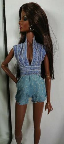 doll clothes fits Barbie, fashion Royalty all other 12 inch