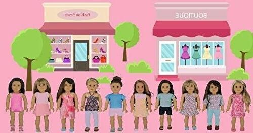 PZAS Toys for American Girl - Wardrobe