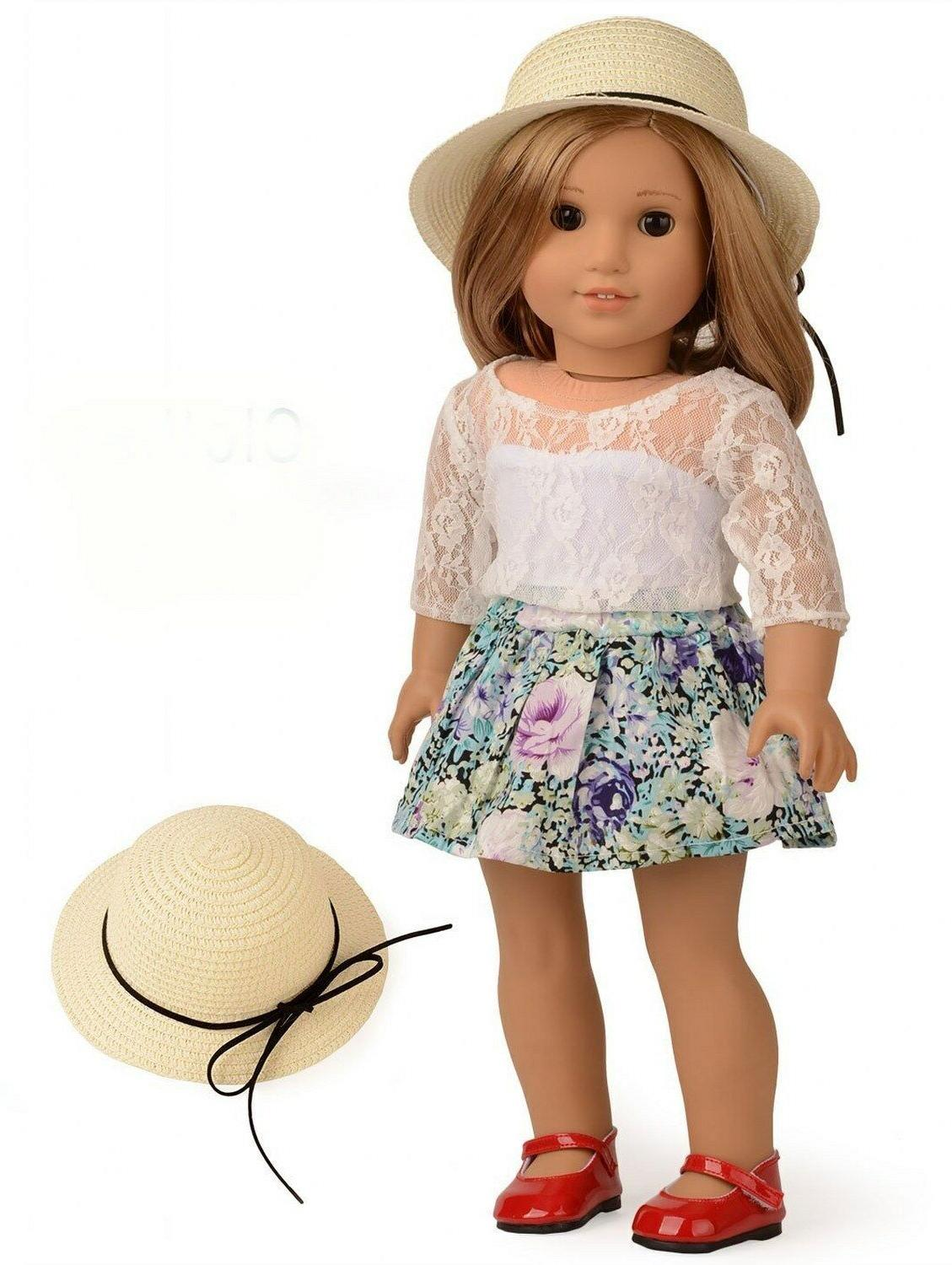Doll Floral Set 18 Include