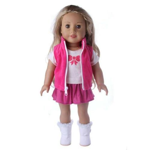 Doll Clothes Dresses For 18 Dolls Outfit