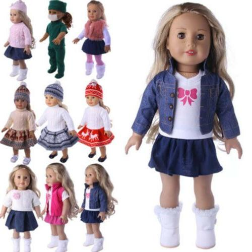 Doll Clothes Lot Dress 18 Outfit