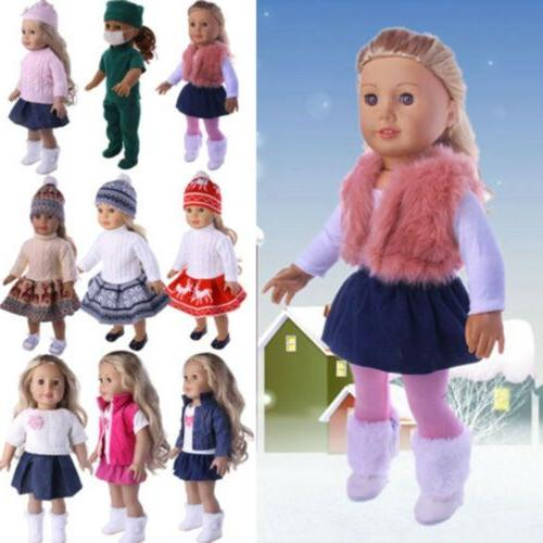Doll Clothes Lot Dress Dresses Girl 18 Outfit Set