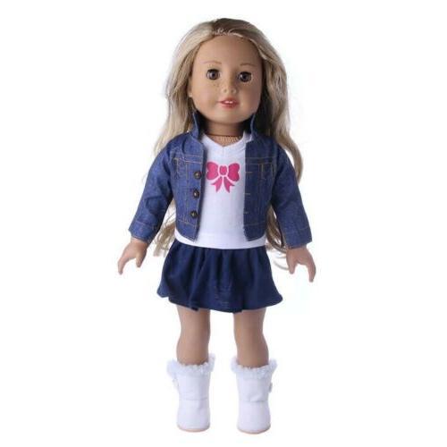 Doll Lot Dress Dresses 18 Inch Dolls Outfit Set