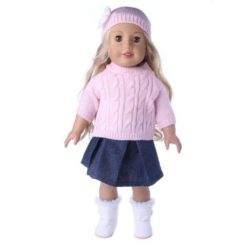 "Doll Clothes Pajames Laceskirt for 18"" Our Generation Doll"