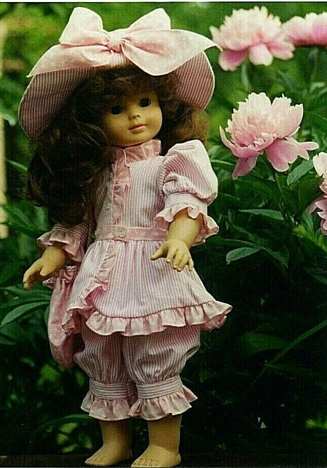 """Sew Adorable Doll Pattern, 18"""" American Girl, Victorian Costume"""