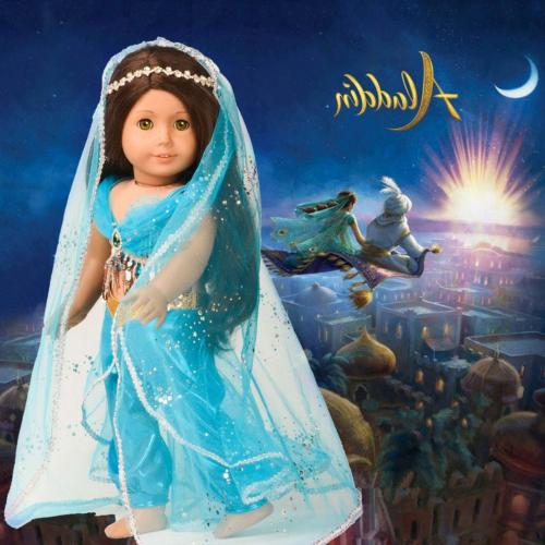 Princess Jasmine Costume 18 American Girl Doll