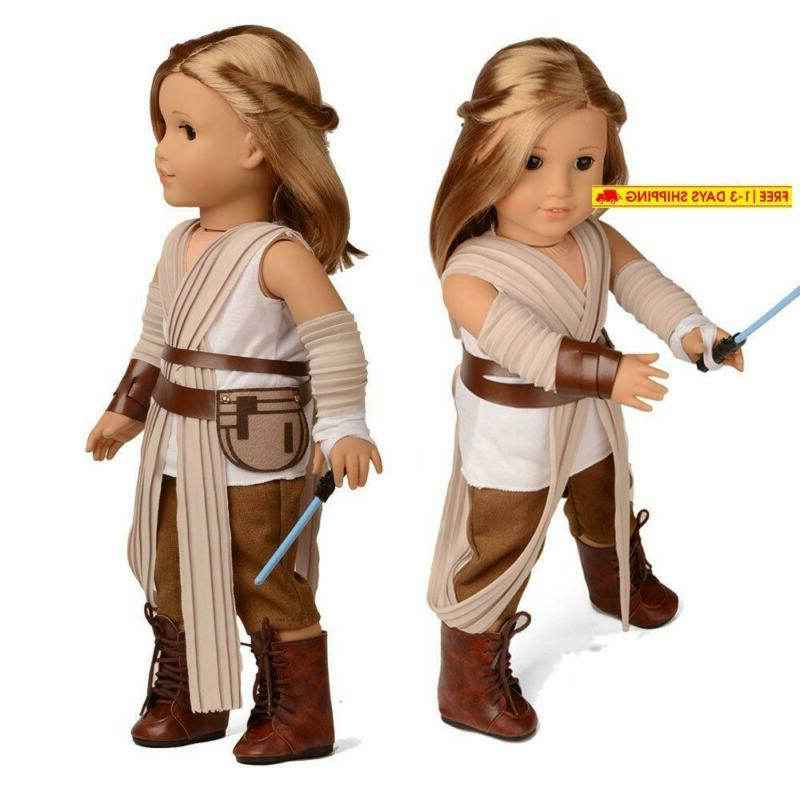 Sweet Dolly Rey Inspired Doll Costume For 18 Girl