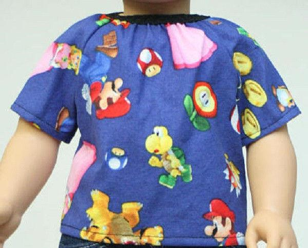 doll clothes shirt fit american boy or