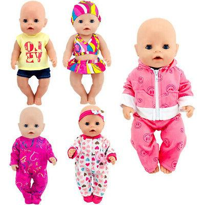 ebuddy Doll Clothes Total 5 Sets Include Bikini Rompers for