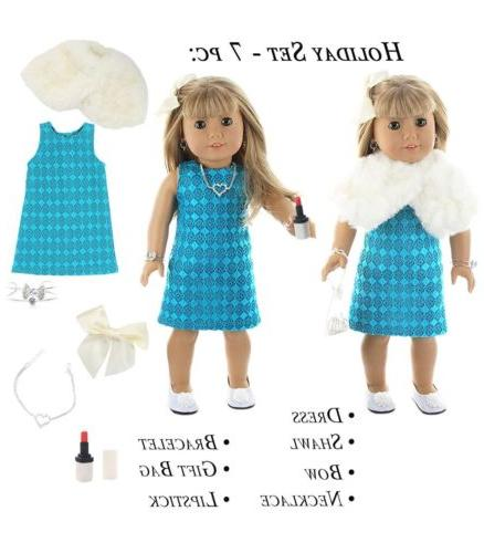 Doll Club of 28 Holiday Fit Girl