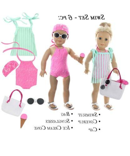 Doll of America 28 Piece Fit 18 Inch American Girl