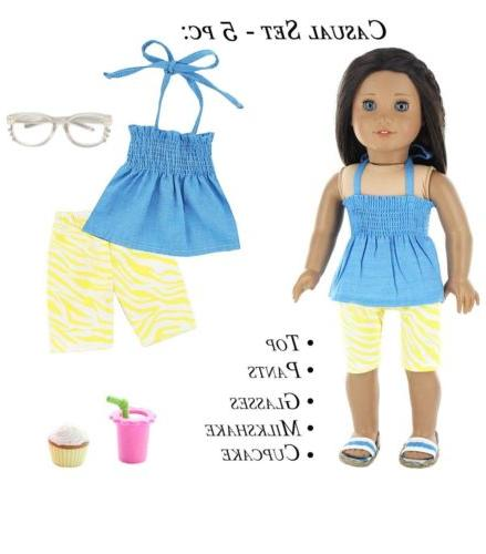 Doll Club of America 28 Fit 18 Inch Girl Doll Clothes