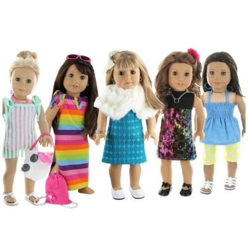 doll club of america 28 piece holiday