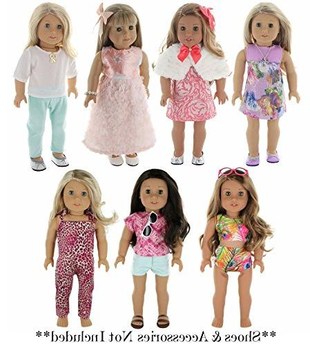 PZAS Toys Outfit Fits Dolls, Compatible Clothes