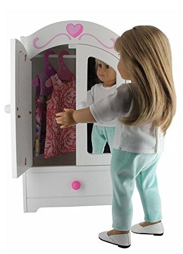 "PZAS Toys 18 Inch Doll 18"" - Outfit Sets Dolls, Clothes Compatible with Clothes"