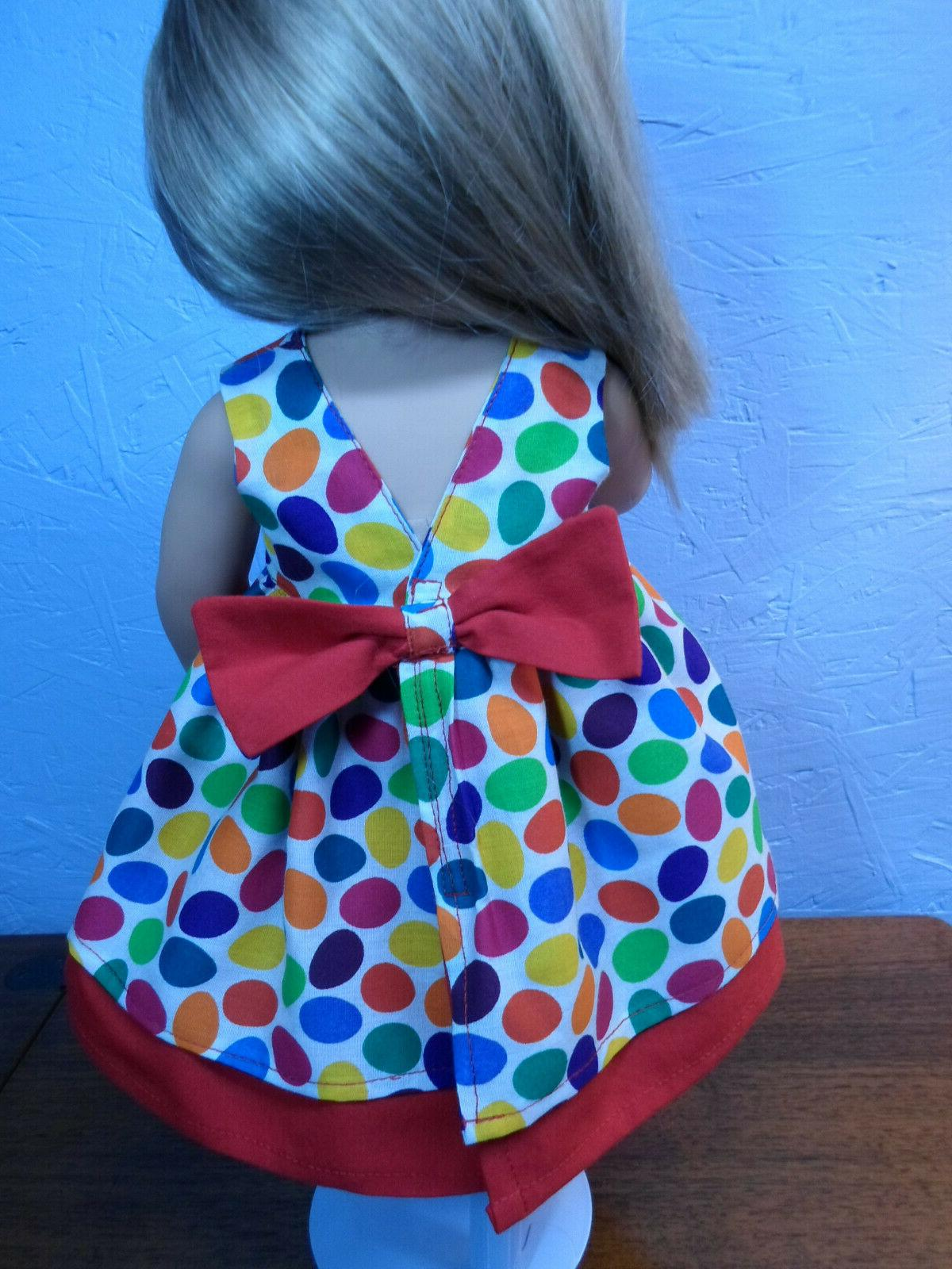 DOLL inch NEW bow primary Easter egg fit