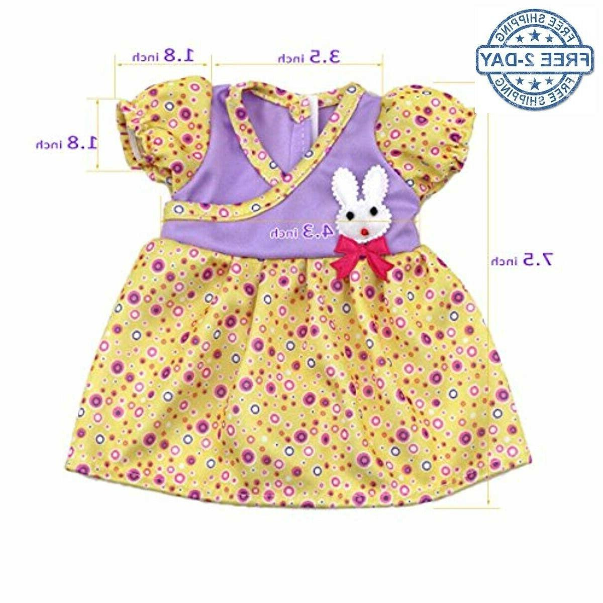 Doll Dress Baby Bitty Small Decoration Dr...