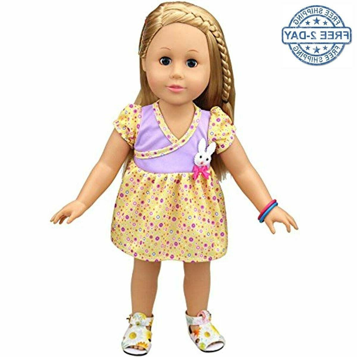 doll dress clothes for baby bitty doll