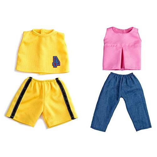 Howona 18 Doll Clothes Include Doll Outfits Pairs Shoes fit American Girl Dolls