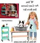 "18"" Doll GROOMING SALON Set Dog Groomer for Our Generation A"