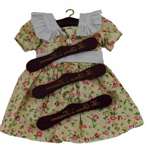 Doll Hangers Inch American Girl Clothes , Doll Mahogany Wooden Doll Clothes Hangers