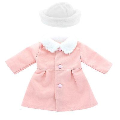 Doll J. Outfit Pink Fits American Inch