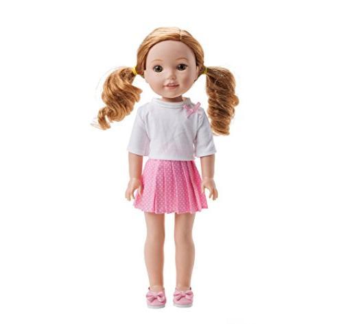 WYHTOYS and 14 inch inch American Wishers Dolls
