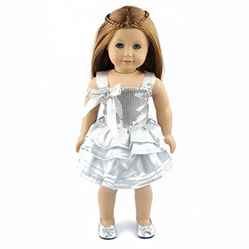 AOFUL Clothes 18 dress American Dolls