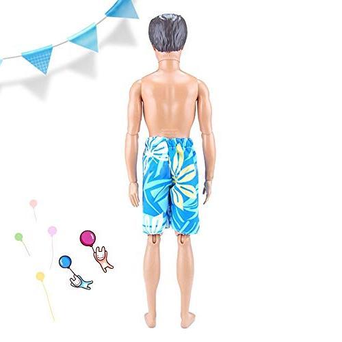 elegantstunning Doll Clothes Shorts Casual Boyfriend Ken